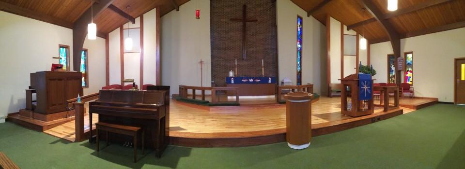 Sanctuary floor